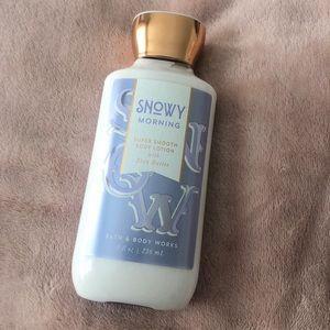NEW   Bath&Body   lotion   snowy morning